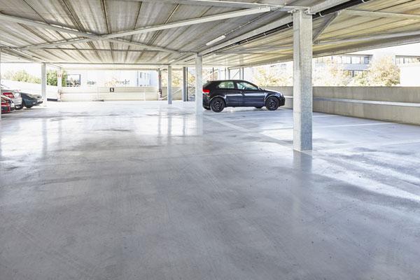 parkeergebouw antislip betonvloeren